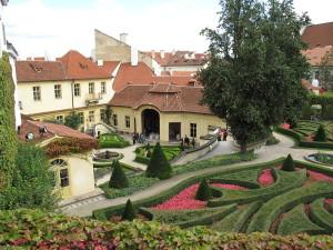 Barokní Vrtbovská zahrada